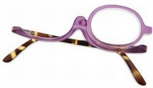 Make-up-bril kunststof -modieus design Sf. + 3.50