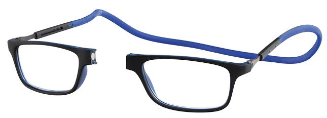 OFAR Magneet Rubber leesbril met verlengde halsband